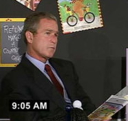 Bush Reaction 9/11