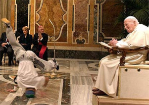 Break-Dancing Sanctioned at the Vatican