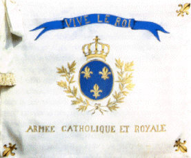 French Catholic Flag
