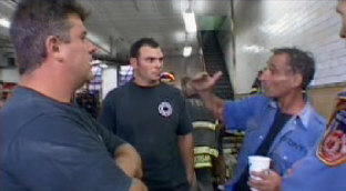 These NYC Firefighters heard many explosions just prior to the South WTC Building imploded