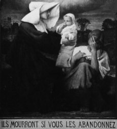 The Daughter's of Charity were started in France by St. Vincent De Paul