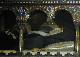 Incorrupt Body of St. Margaret Mary Alacoque