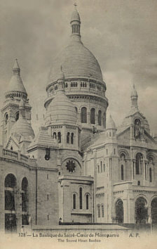 La Basilique du Sacr� Coeur (The Sacred Heart Basilica - Paris France)