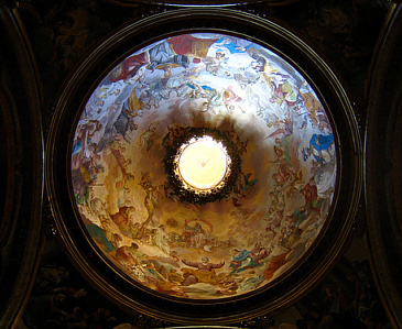 Dome of St. Robert Bellarmine Chapel