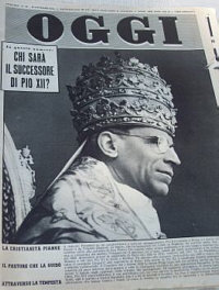 Death of Papa Pio XII 1958