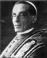 His Holiness Pope Benedict XV