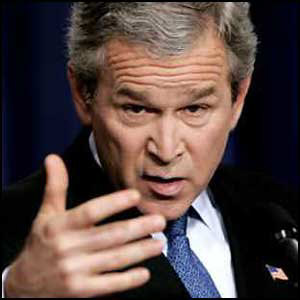 President George W. Bush Jr.