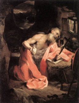 St. Jerome did heroic penance