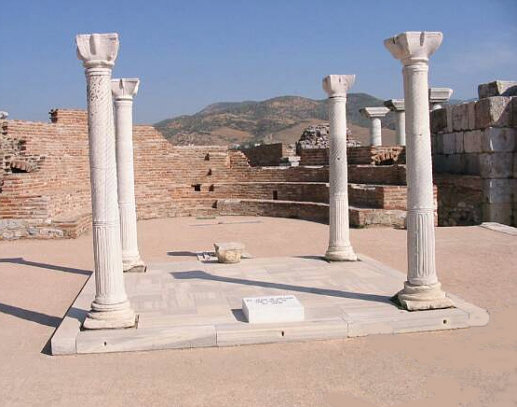 The Apostle St. John's Tomb in Ephesus