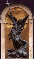 St. Michael the Archangel defend us in battle!
